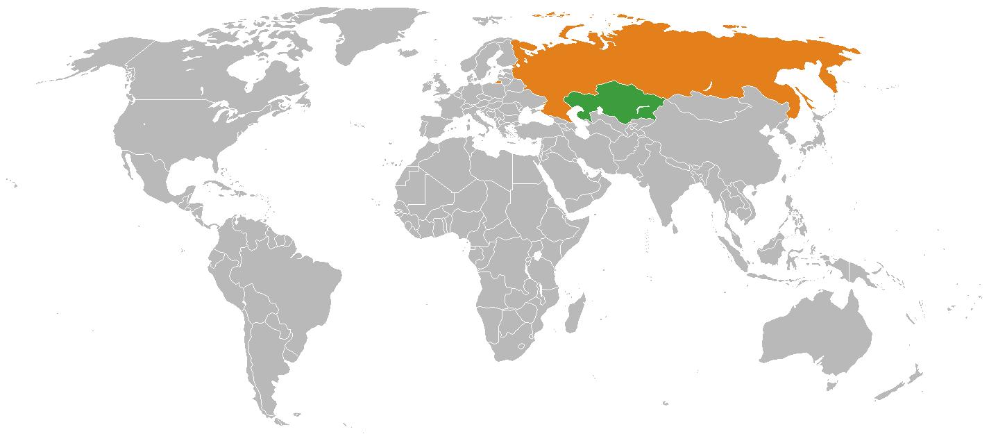 Казахско-российские отношения и международные отношения Казахстана