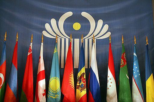Флаги государств, входящих в СНГ